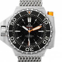 Seamaster Ploprof 1200M Co-Axial Master Chronometer 55x48mm Automatic Black Dial Titanium Men's Watch