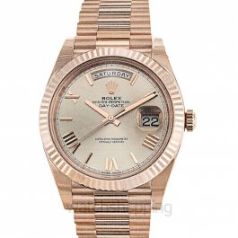 Rolex Day Date 228235 Pink Roman