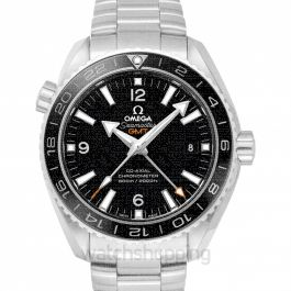 Seamaster Planet Ocean 600M Co‑axial GMT 43.5 mm Automatic Black Dial Steel Men's Watch