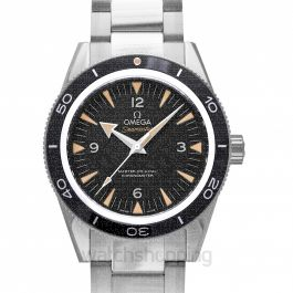 Seamaster 300 Master Co-Axial 41 mm Automatic Black Dial Steel Men's Watch
