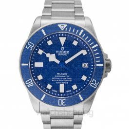 Pelagos Titanium Automatic Blue Dial Men's Watch