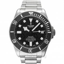 Pelagos Titanium Chronometer Automatic Black Dial Men's Watch