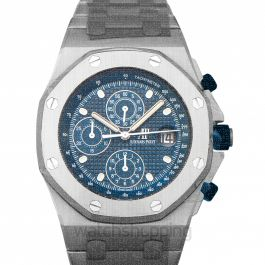 Royal Oak Offshore Selfwinding Chronograph 42 mm 25th Anniversary Blue Dial Men's Watch