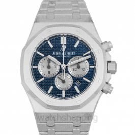 Royal Oak Blue Dial Men's Watch