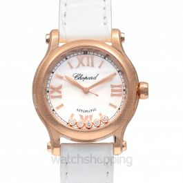 Happy Diamonds Automatic Mother Of Pearl Dial Ladies Watch