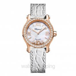 Happy Sport Automatic Mother of pearl Dial Diamonds Ladies Watch