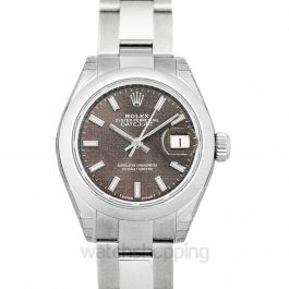 Datejust Dark Grey Oyster Stainless Steel Domed 28mm
