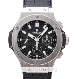 Big Bang Automatic Black Dial Stainless Steel Men's Watch