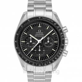 Speedmaster Moonwatch Professional Chronograph 42 mm Manual-winding Black Dial Stainless Steel Men's Watch