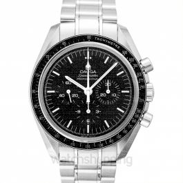 Speedmaster Moonwatch Professional Chronograph 42mm Manual-winding Black Dial Stainless Steel Men's Watch