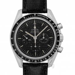 Speedmaster Moonwatch Professional Chronograph 42 mm Manual-winding Black Dial Steel Men's Watch