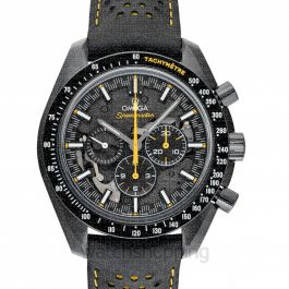 Speedmaster Moonwatch Chronograph 44.25 mm Manual-winding Black Dial Black ceramic Men's Watch