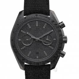 Speedmaster Moonwatch Co‑Axial Chronograph 44.25mm Automatic Black Dial Ceramic Men's Watch