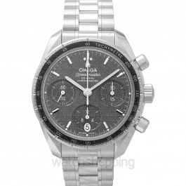 Speedmaster Co‑Axial Chronograph 38mm Automatic Grey Dial Steel Men's Watch