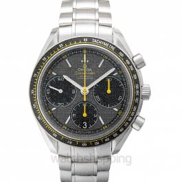 Speedmaster Racing Co‑Axial Chronograph 40 mm Grey Dial Steel Unisex Watch