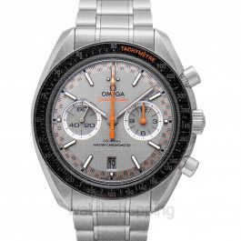 Speedmaster Racing Co‑Axial Master Chronometer Chronograph 44.25 mm Automatic Grey Dial Steel Men's Watch
