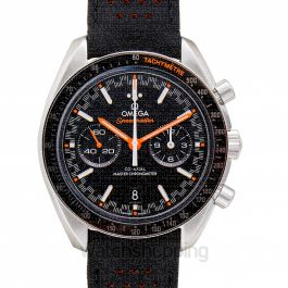 Speedmaster Racing Co-Axial Master Chronometer Chronograph 44.25 mm Automatic Black Dial Steel Men's Watch