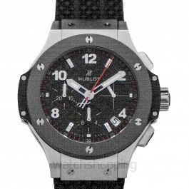 Hublot Big Bang Chronograph Automatic Carbon Fiber Dial Men's Watch