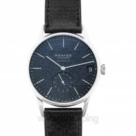Orion Neomatik 41 Date Midnight Blue Automatic Blue Dial 40 mm Men's Watch
