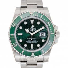 Submariner Green/Steel Ø40mm