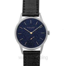 Orion 38 Midnight Blue Manual-winding Blue Dial 38.0mm Men's Watch