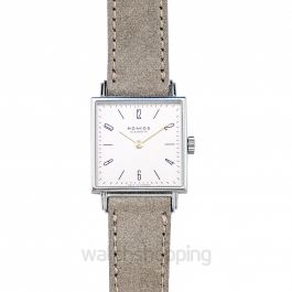 Tetra 27 Duo Manual-winding White Dial 27.5mm Ladies Watch