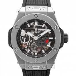 Big Bang MECA-10 Titanium Manual-winding Black Dial Men's Watch