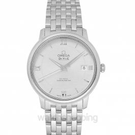 De Ville Prestige Co‑Axial 36.8 mm Automatic Silver Dial Steel Unisex Watch