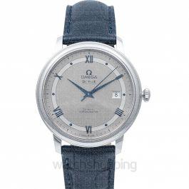 De Ville Prestige Co‑Axial 39.5mm Automatic Silver Dial Steel Men's Watch