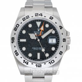 Rolex Explorer II 216570 Black_@_26380