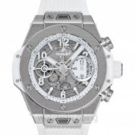 Big Bang Automatic White Dial Men's Watch