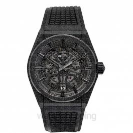 Zenith Defy Classic Ceramic Black Dial Mens Watch 41mm