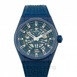 Zenith Defy Classic  Blue Dial Mens Watch 41mm