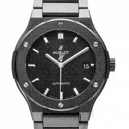 Classic Fusion Black Magic Bracelet Automatic Black Dial Ceramic Men's Watch