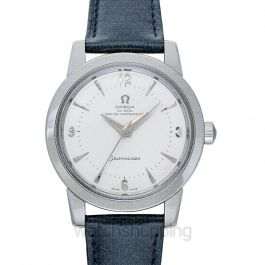 Seamaster 1948 Co‑Axial Master Chronometer 38mm Automatic Silver Dial Steel Men's Watch