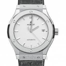 Classic Fusion Titanium Opalin Automatic White Dial Titanium Men's Watch