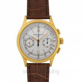 Complications Chronograph Beige Dial Men's Watch