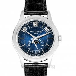 Complications Blue Dial Men's Calendar Watch