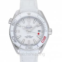 Seamaster Planet Ocean 600M Co-Axial 39.5 Master Olympic Games Automatic White Dial Steel Men's Watch