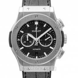 Classic Fusion Chronograph Titanium Automatic Black Dial Men's Watch