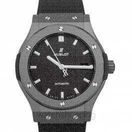 Classic Fusion Black Magic Automatic Black Dial Ceramic Men's Watch