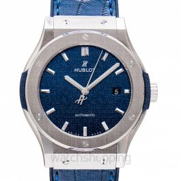 Classic Fusion Titanium Blue Automatic Blue Dial Men's Watch