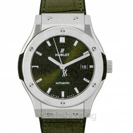 Classic Fusion Green Titanium Automatic Green Dial Men's Watch