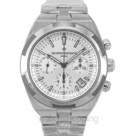 Overseas Silver Dial Automatic Men's Watch