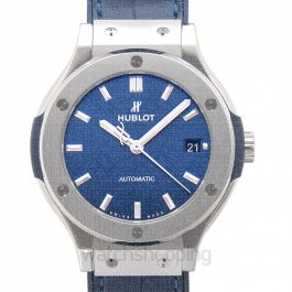 Classic Fusion Titanium Blue Automatic Blue Dial Men's Watch