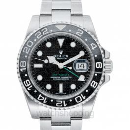 GMT-Master II Black/Steel Ø40mm