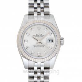 Lady Datejust Silver Dial Jubilee Bracelet