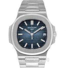 Nautilus Blue Dial Men's Watch