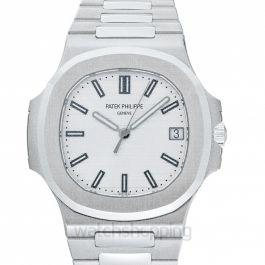 Nautilus Silver Dial Men's Watch