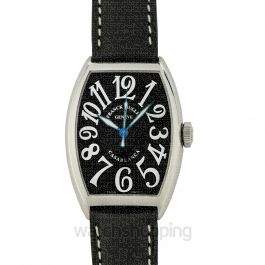 Franck Muller Casablanca Stainless Steel Black Automatic 31.5mm